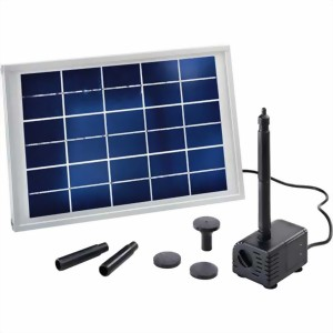 iws solar ag solarpumpen set verbier solarpumpen set 50 teichpumpe mit solarzelle als kit. Black Bedroom Furniture Sets. Home Design Ideas