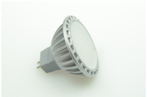 Bild von LED-Spot in Halogenform MR16, 5W / 12 + 24V